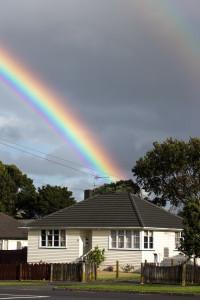 State house rainbow