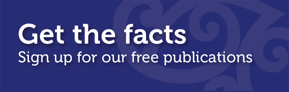 Get the facts - Sign up to our free publications
