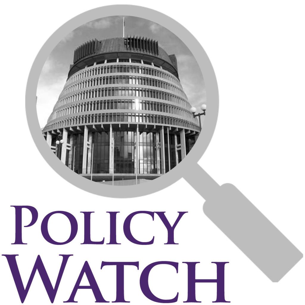 policy watch rough logo