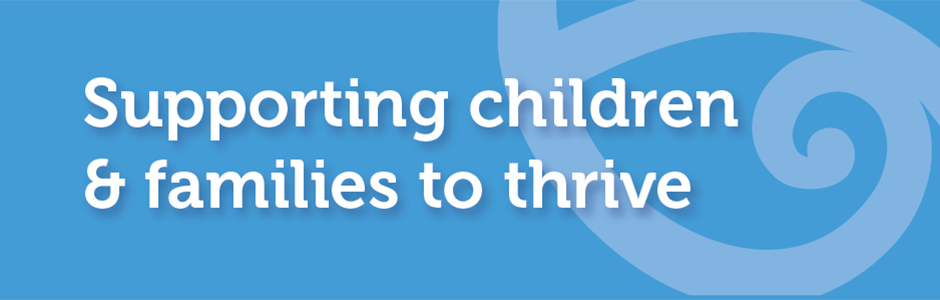 Supporting families & children to thrive