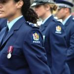 NZ Police on parade
